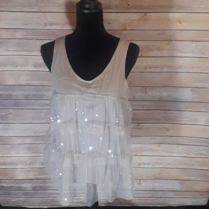 Loft tank with sequence detail size L